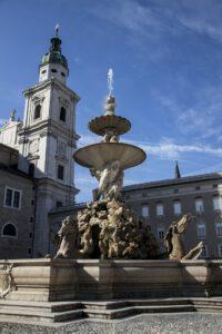 Residenzbrunnen in Salzburger