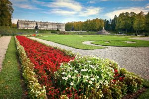Herrenchiemsee Castle with gardens