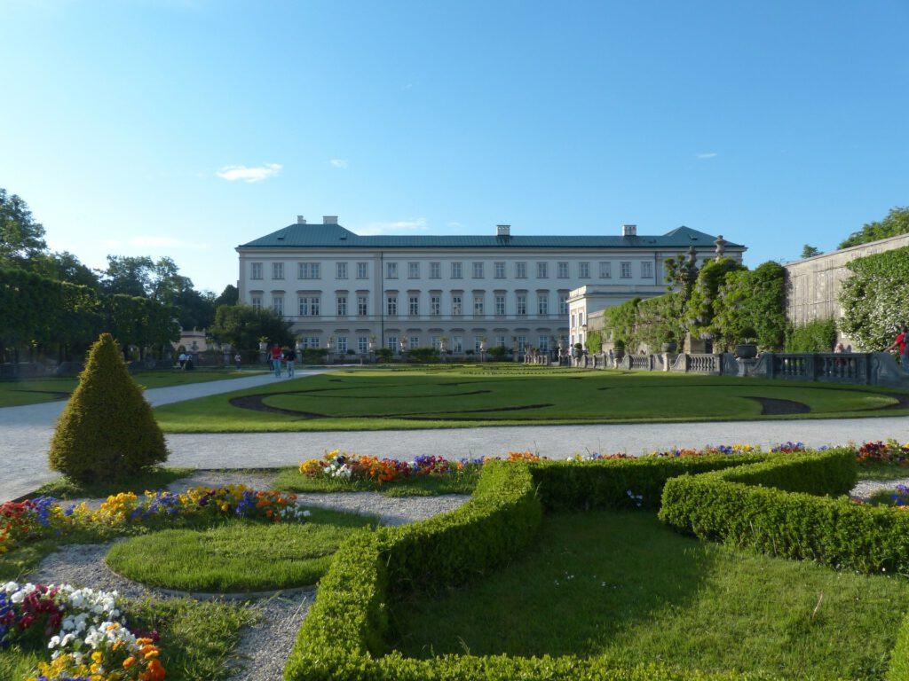 Schloss Mirabell mit Garten in Salzburg