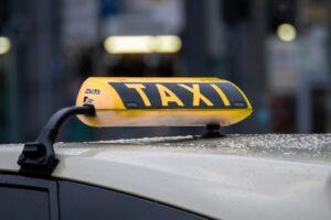 Taxizeichen